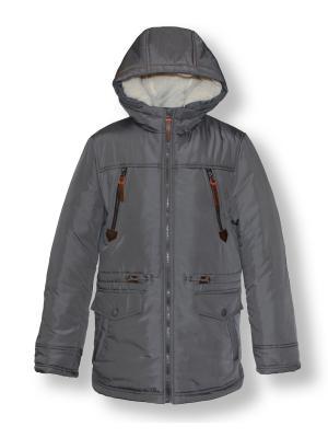 Куртка Артус. Цвет: темно-серый