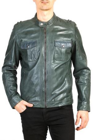 Куртка Isaco & Kawa. Цвет: зеленый