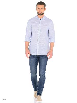 Рубашка MUSTANG. Цвет: светло-серый