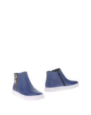 Полусапоги и высокие ботинки STYLESNOB. Цвет: синий