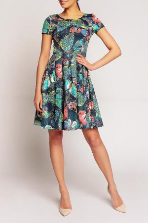 Платье Karen. Цвет: мультицвет