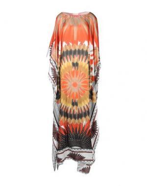Пляжное платье ADRIANA DEGREAS. Цвет: красный