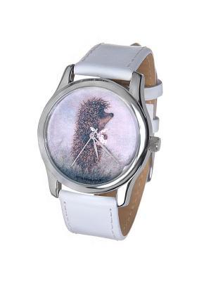 Часы Mitya Veselkov Ежик с котомкой. Цвет: белый