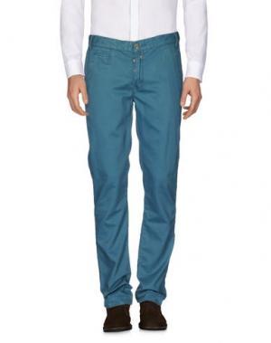 Повседневные брюки JUNK DE LUXE. Цвет: цвет морской волны