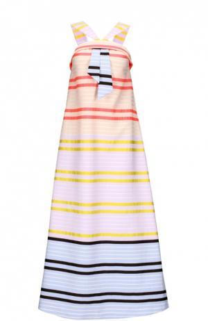 Платье Suno. Цвет: разноцветный