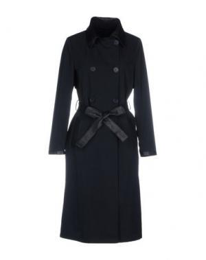 Легкое пальто OLIVIERI. Цвет: темно-синий