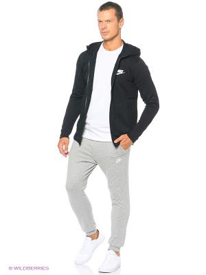 Толстовка M NSW AV15 HOODIE FZ FLC Nike. Цвет: черный