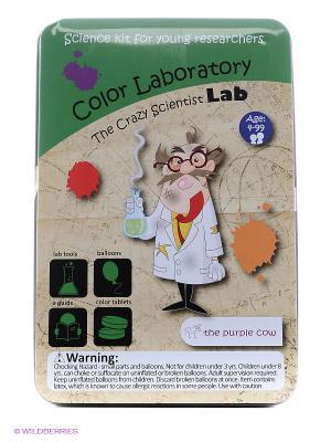 Эксперименты Лаборатория цвета. сумасшедшего ученого. THE PURPLE COW. Цвет: зеленый
