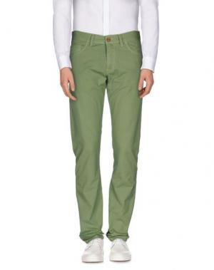 Повседневные брюки CANTARELLI. Цвет: светло-зеленый