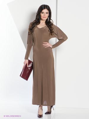 Платье МадаМ Т. Цвет: темно-бежевый