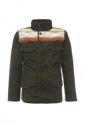 Куртка Gap. Цвет: зеленый