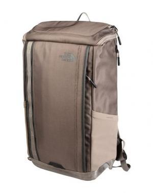 Рюкзаки и сумки на пояс THE NORTH FACE. Цвет: голубиный серый