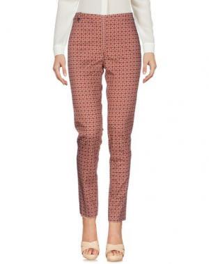 Повседневные брюки E/KOLLINS. Цвет: ржаво-коричневый