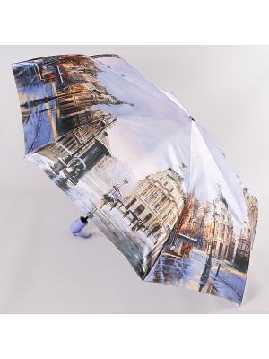 Зонт Trust. Цвет: лиловый, голубой