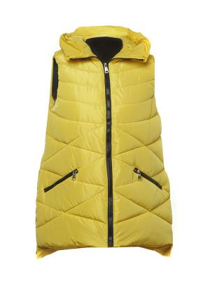 Жилет Classic Fashion. Цвет: желтый
