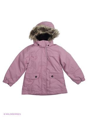Куртка Lassie by Reima. Цвет: розовый