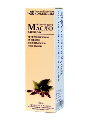 Масло для волос. Профилактическое. 100 гр Крымская Натуральная Коллекция. Цвет: белый