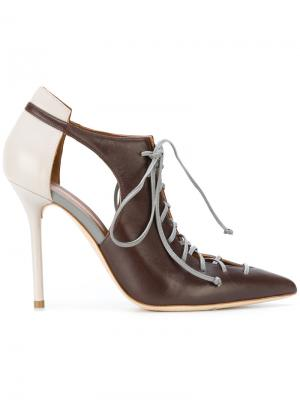 Туфли Montana Malone Souliers. Цвет: коричневый