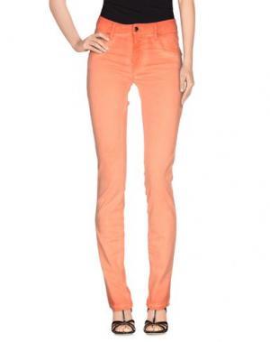 Джинсовые брюки MET. Цвет: оранжевый