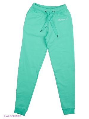 Трикотажные брюки Repost. Цвет: зеленый
