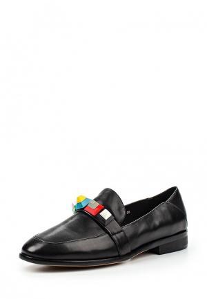 Лоферы Grand Style. Цвет: черный