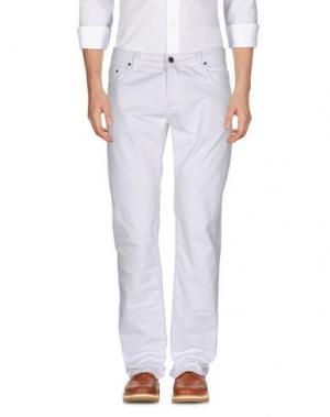 Повседневные брюки CELLAR DOOR. Цвет: белый