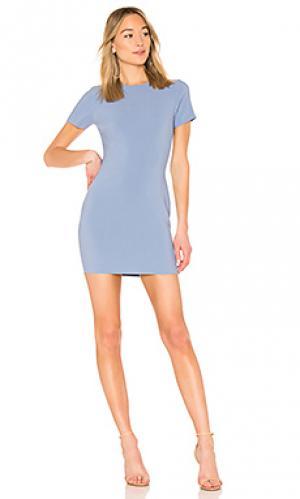 Платье manhattan LIKELY. Цвет: нежно-голубой