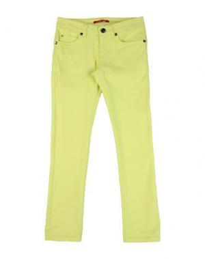 Джинсовые брюки LIU •JO JUNIOR. Цвет: кислотно-зеленый