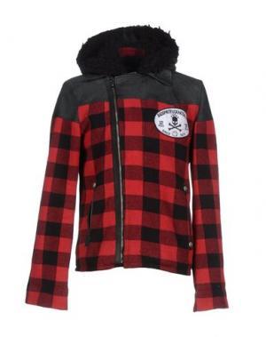 Куртка BAD SPIRIT. Цвет: красный