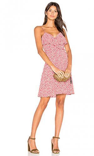 Платье negril Bailey 44. Цвет: красный