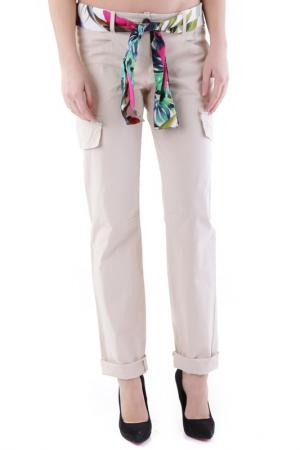 Trousers Cristina Gavioli. Цвет: beige