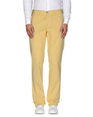 Повседневные брюки BROOKSFIELD. Цвет: желтый