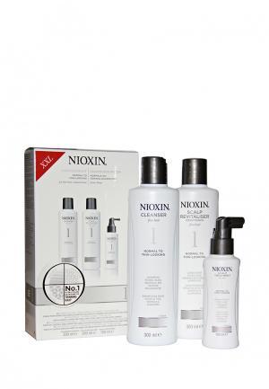 Набор Система 1 Nioxin. Цвет: белый