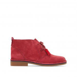 Ботинки из кожи Cyra Catelyn HUSH PUPPIES. Цвет: красный