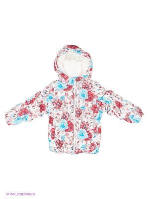Куртка PlayToday. Цвет: белый