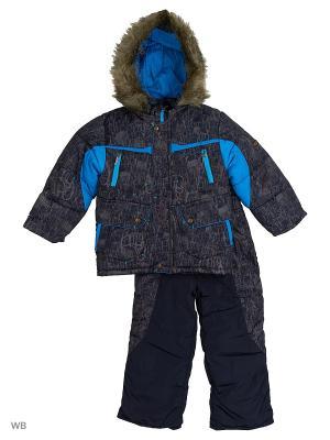 Комплект для мальчика Рюкзачек Пралеска. Цвет: голубой