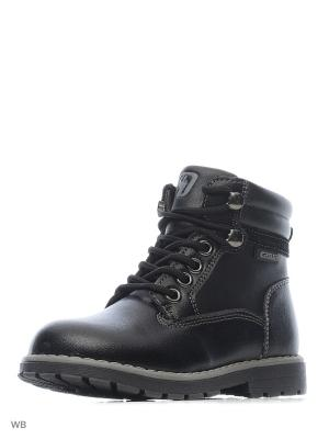 Ботинки QWEST. Цвет: черный
