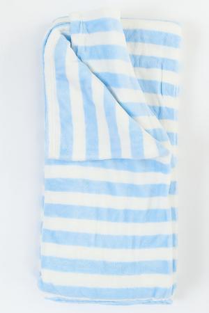 Плед Готье MIKRONESSE. Цвет: голубой