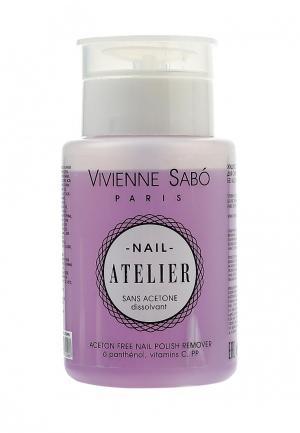 Средство для снятия лака Vivienne Sabo. Цвет: фиолетовый