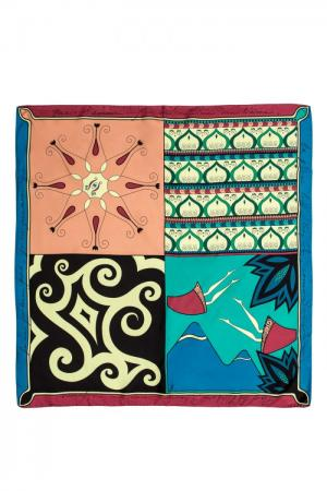Шелковый платок 156820 Tatiana Kulagina