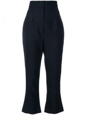 Укороченные брюки клеш Jacquemus. Цвет: чёрный