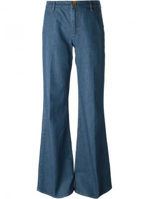Джинсы Loon Mih Jeans. Цвет: синий
