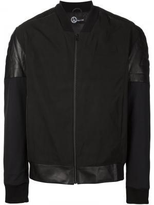 Куртка-бомбер Memory Ada + Nik. Цвет: чёрный