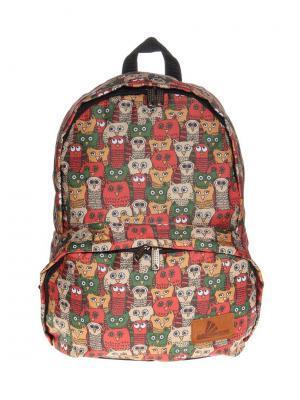 Рюкзак ПодЪполье. Цвет: красный, оранжевый, зеленый, бежевый