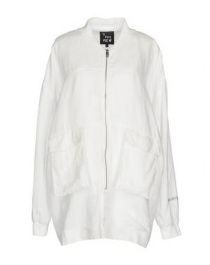 Легкое пальто 5PREVIEW. Цвет: белый