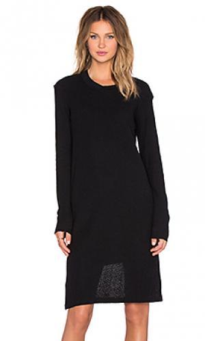 Мини платье factory OAK. Цвет: черный