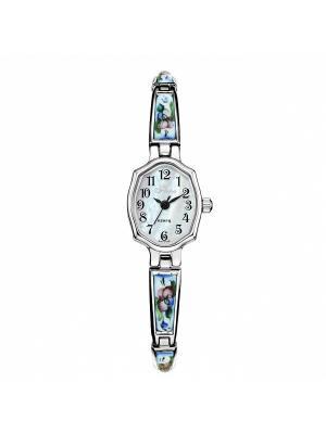 Часы Mikhail Moskvin. Цвет: голубой,серебристый