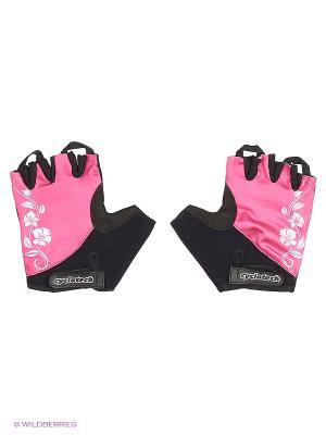 Велоперчатки Cyclotech. Цвет: черный, розовый, синий
