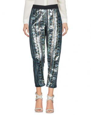 Повседневные брюки NINEMINUTES. Цвет: лазурный
