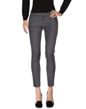 Повседневные брюки ALYSI. Цвет: свинцово-серый